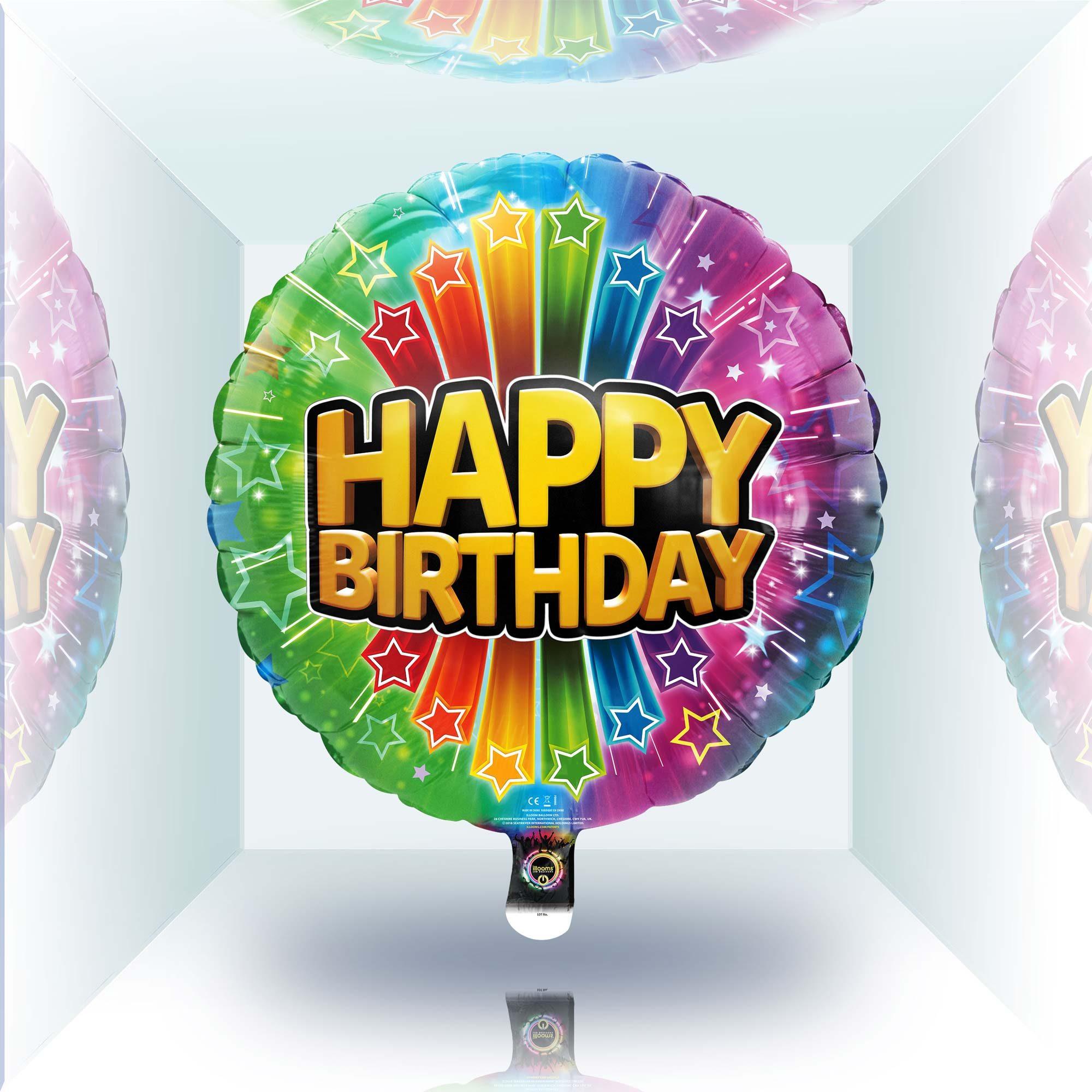 Happy Birthday Balloon in Daylight